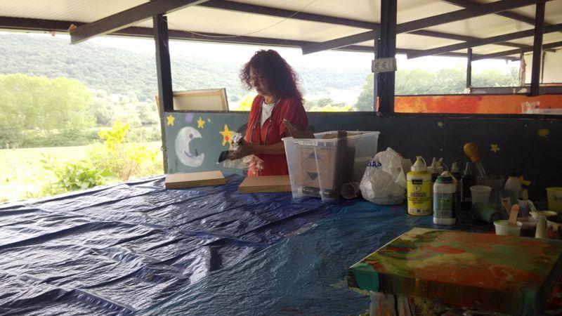 Elena Solatxi - Artista plastikoa, laborategi esperimentala.