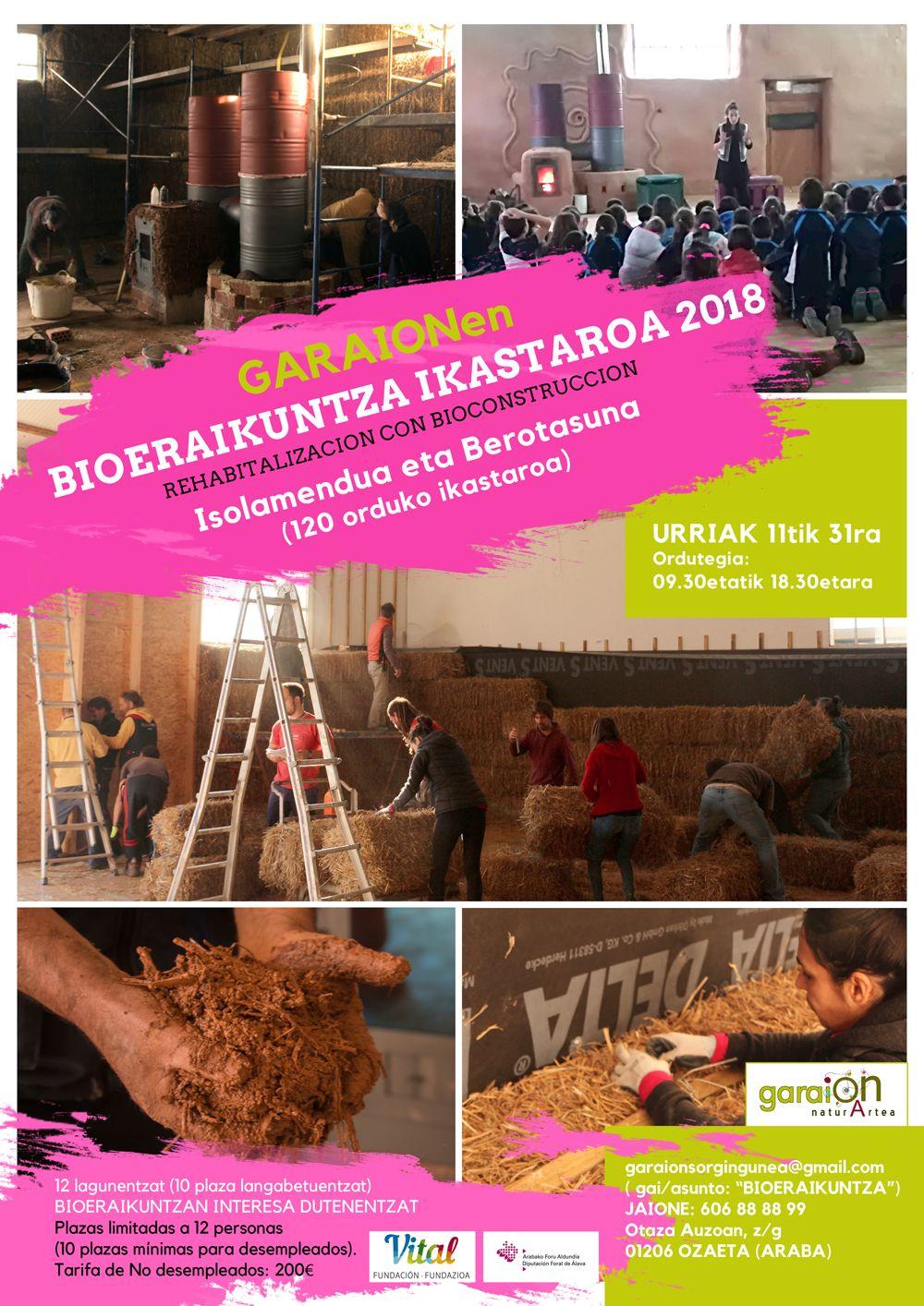 bioeraikuntza ikastaroa 2018